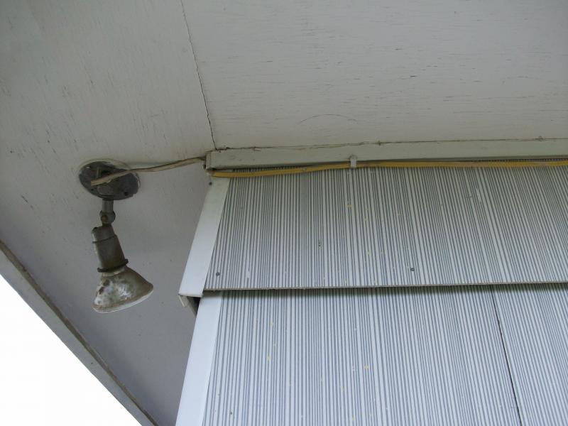 Romex wiring not suitable for exterior use   Sierra Nevada Home ...